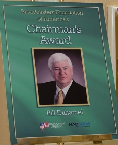 2017 Broadcaster Foundation of America - Chairman Award - Duhamel - Cropped