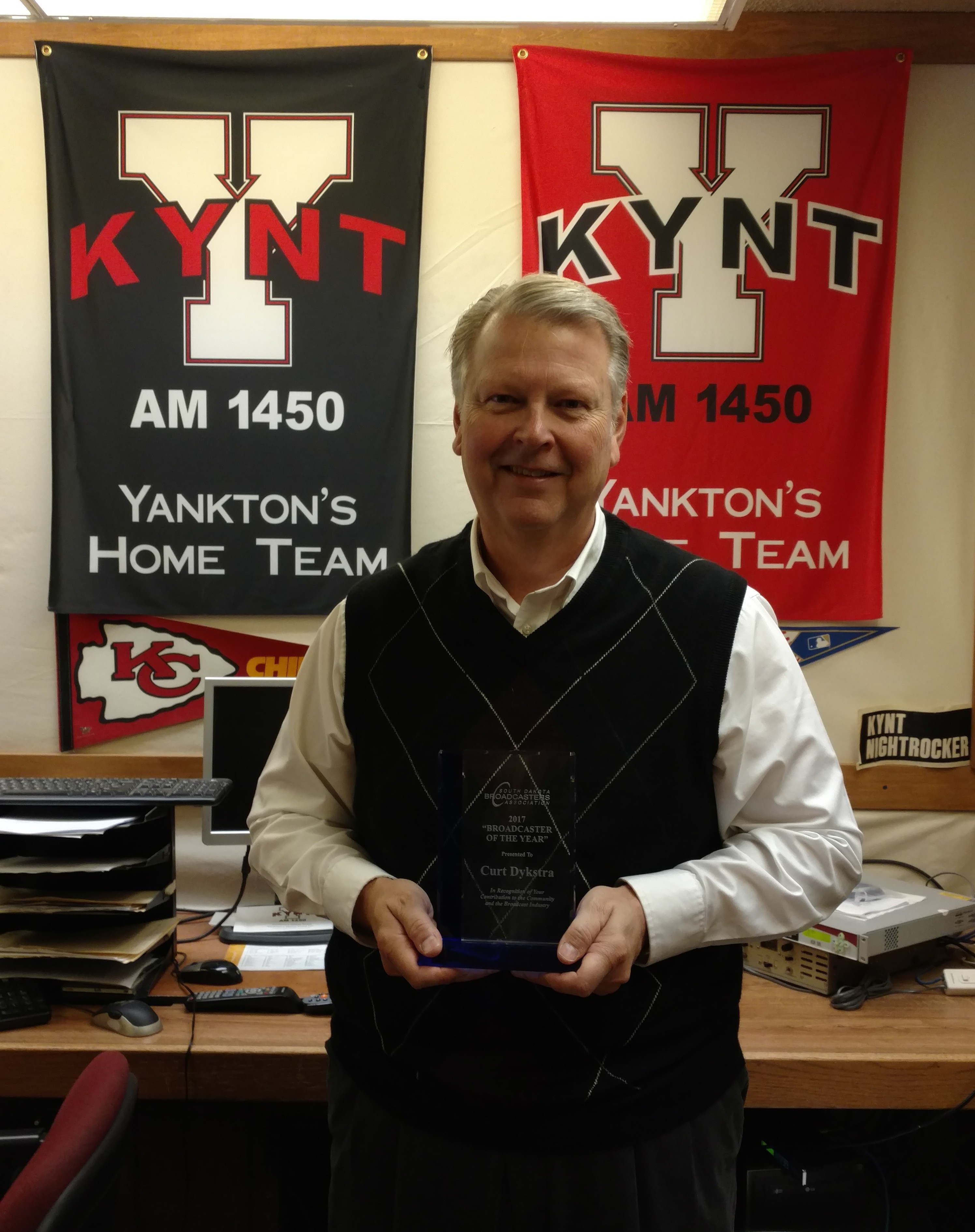 2017 Broadcaster of the Year Dykstra